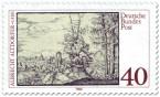 Briefmarke: Albrecht Altdorfer Landschaft