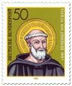Briefmarke: Benedikt von Nursia (Mönch)