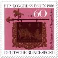 Briefmarke: Briefmarken-Kongress für Philatelie und Postgeschichte