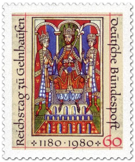 Briefmarke: 800. Jahrestag des Reichstages zu Gelnhausen