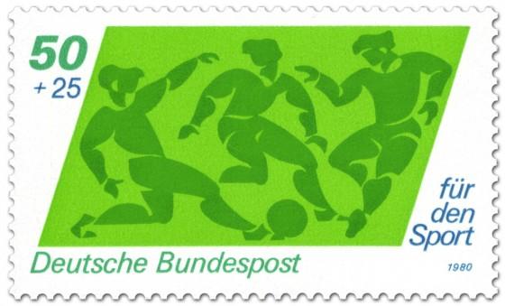 Briefmarke: Fussball Sporthilfe