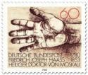 Briefmarke: Hand (Zeichnung) für Friedrich Joseph Haass