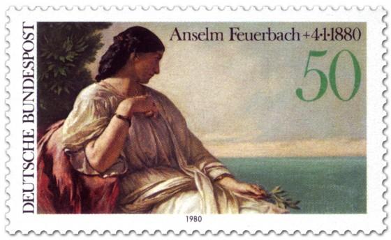 Briefmarke: Iphigenie von Anselm Feürbach