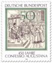 Briefmarke: 450 Jahre Confessio Augustana