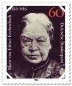 Briefmarke: Marie von Ebner-Eschenbach