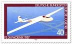 Briefmarke: Segelflugzeug Fs 24 Phönix