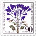 Briefmarke: Träubelhyazinthe (Wildkraut)