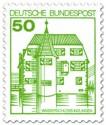 Briefmarke: Wasserschloss Inzlingen