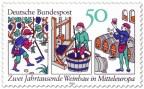 Briefmarke: Zwei Jahrtausende Weinbau in Mitteleuropa