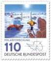 Briefmarke: Antarktis Forschungsstation Polarforschung