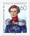 Briefmarke: Carl von Clausewitz (General)