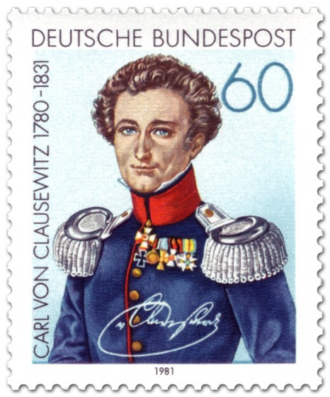 Briefmarke: Carl von Clausewitz (General)