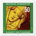 Briefmarke: Elisabeth von Thüringen