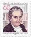 Briefmarke: Elly Heuss-Knapp (Sozialreformerin)