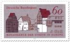 """Stamp: Historische Altstadt (""""Renaissance der Städte"""")"""