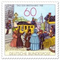 Briefmarke: Historische Poststation (Tag der Briefmarke)