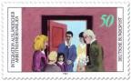 Briefmarke: Integration ausländischer Familien