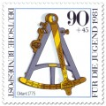 Briefmarke: Oktant um 1775