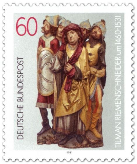 Briefmarke: Tilman Riemenschneider (Bildhauer)