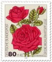 Briefmarke: Bourbon-Rose