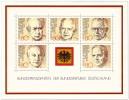 Briefmarke: Briefmarkenblock Bundespräsidenten