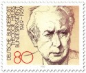 Briefmarke: Bundespräsident Theodor Heuss (82)