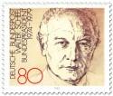 Briefmarke: Bundespräsident Walter Scheel (82)