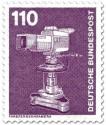 Briefmarke: Farbfernsehkamera