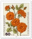 Briefmarke: Floribunda-Rose