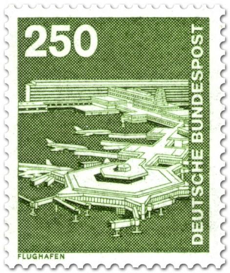 Briefmarke: Flughafen Frankfurt am Main (1982)