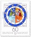 Briefmarke: Gregorianischer Kalender