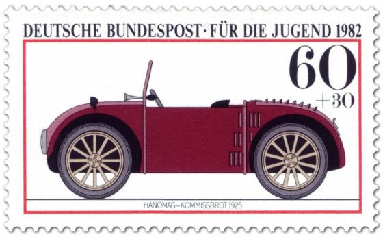 Briefmarke: Hanomag, genannt Kommissbrot