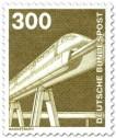 Briefmarke: Magnetschwebebahn (1982)