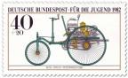 Briefmarke: Benz Patent - Motorwagen Nummer 1