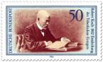 Briefmarke: Robert Koch, Entdecker des Tuberkulose-Erregers