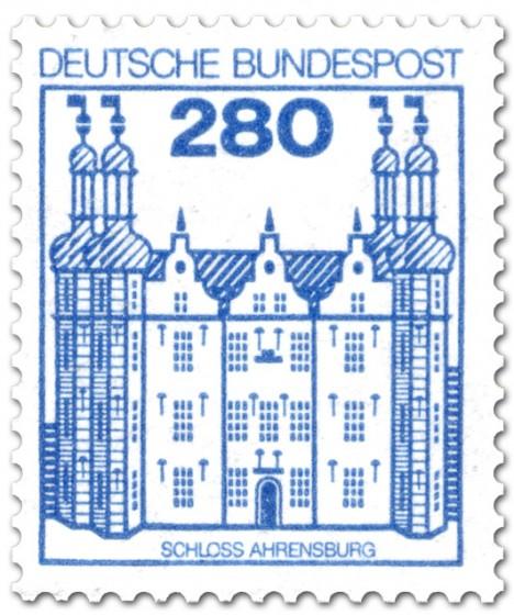 Briefmarke: Schloss Ahrensburg