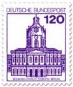 Briefmarke: Schloss Charlottenburg Berlin