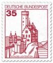 Briefmarke: Schloss Lichtenstein