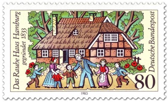 Briefmarke: Das Rauhe Haus Hamburg