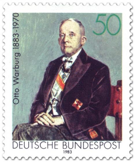 Briefmarke: Otto Warburg (Biochemiker)
