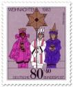 Briefmarke: Sternsinger Kostüme (Weihnachtsmarke 1983)