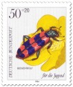 Briefmarke: Bienenwolf Käfer