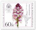 Briefmarke: Brand Knabenkraut (Orchidee)