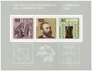 Briefmarke: Briefmarken Weltpostkongress Hamburg 1984