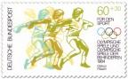 Briefmarke: Diskuswerfen
