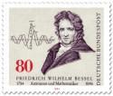 Briefmarke: Friedrich Wilhelm Bessel Astronom Mathematiker