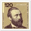 Briefmarke: Heinrich von Stephan (Weltpostverein)