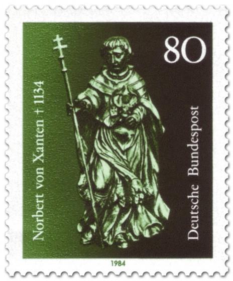 Briefmarke: Norbert von Xanten (Bischof)