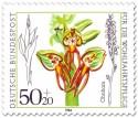 Briefmarke: Ohnhorn (Orchidee)