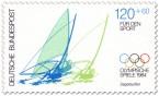 Briefmarke: Windsurfen (Segelsurfen)